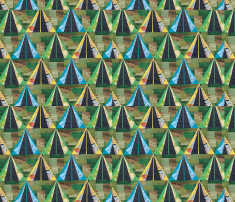 120813-camping-was-full0-ed fabric by renateandtheanthouse on Spoonflower - custom fabric