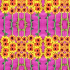 Sunny Flowers - Child Print #1