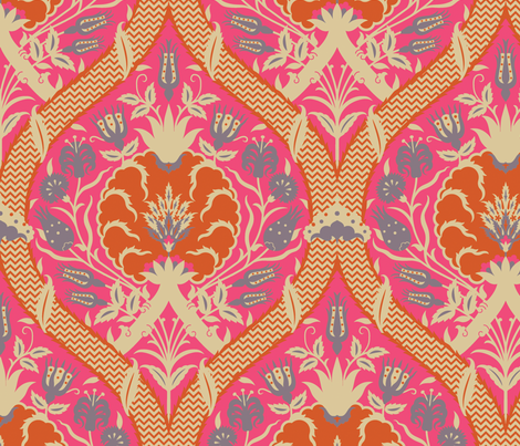 Serpentine 754 fabric by muhlenkott on Spoonflower - custom fabric