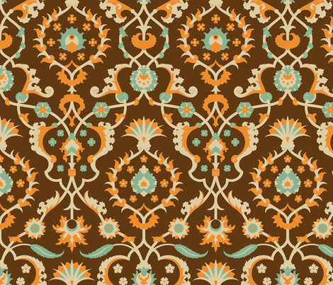 Serpentine 768 fabric by muhlenkott on Spoonflower - custom fabric