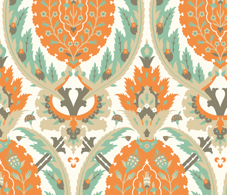 Serpentine 771 fabric by muhlenkott on Spoonflower - custom fabric