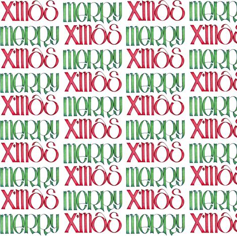 Merry Xmas green
