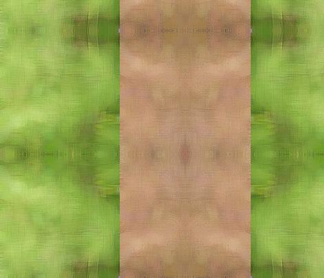 Cabin Stripe Large - Moss fabric by tequila_diamonds on Spoonflower - custom fabric