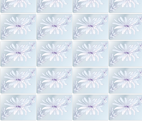 soft_cloud_  designer LYdia Falletti  fabric by artsylady on Spoonflower - custom fabric