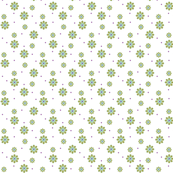 daisy tile: scattered daisy