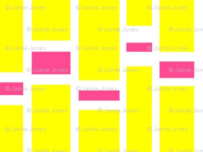 Preppy Stripes (Yellow/Pink)