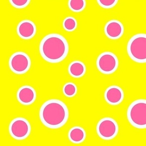 Preppy Dots (Yellow/Pink)