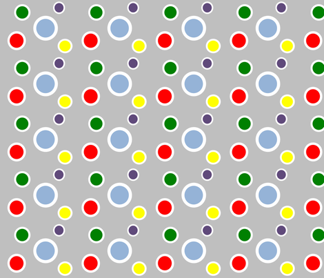 Preppy Dots (Multi) fabric by stitching_dvm on Spoonflower - custom fabric