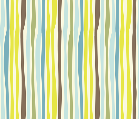 Nesting Stripe fabric by bzbdesigner on Spoonflower - custom fabric