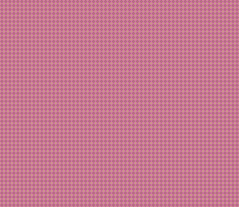 daisy tile: small raspberry squares fabric by cindilu on Spoonflower - custom fabric