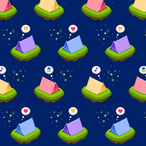 Sweet dreams fabric by petitspixels on Spoonflower - custom fabric