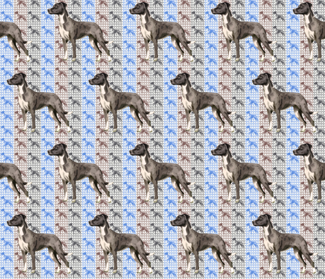 Catahoula Leopard Dog Fabric fabric by dogdaze_ on Spoonflower - custom fabric