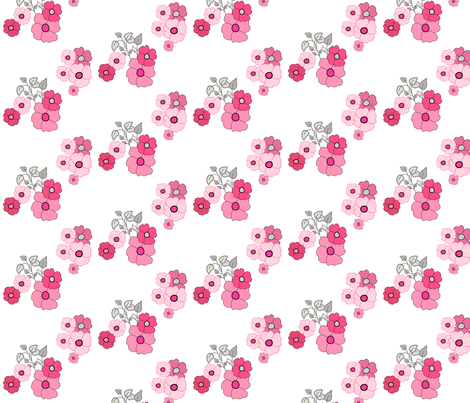flower splendor fabric by rcm-designs on Spoonflower - custom fabric