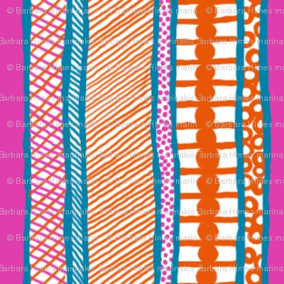BeachHat: Vertical Stripe Coordinate