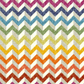 Chevron Flowers