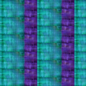 Lake House Stripe Peacock/Ultraviolet - 1