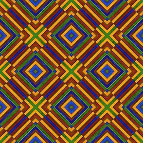 Quadrichrome Squared Lines