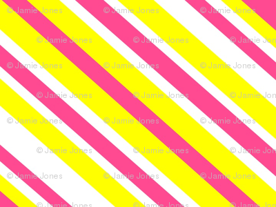 Preppy Diamonds (Yellow/Pink)