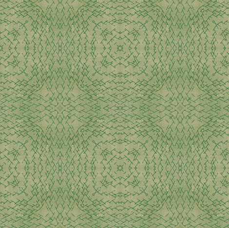 Branch of Sage fabric by feebeedee on Spoonflower - custom fabric
