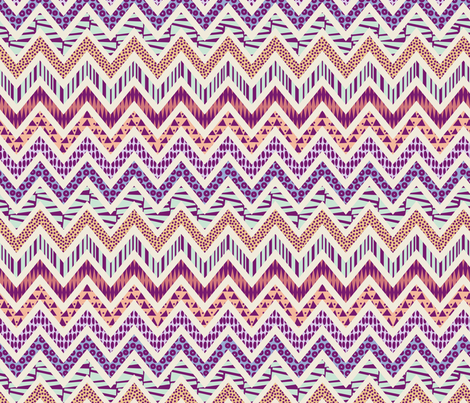 zig-zag fabric by kimsa on Spoonflower - custom fabric