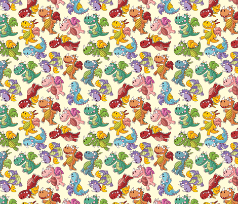 Drag-n-Dropp fabric by kittenstitches on Spoonflower - custom fabric