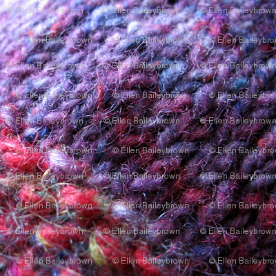purple knit