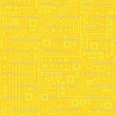 Robot Circuit Board (Yellow)