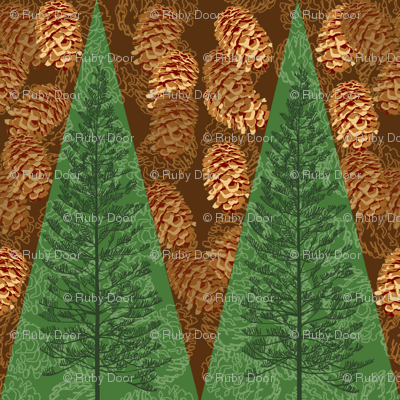 Pinecones & Evergreens