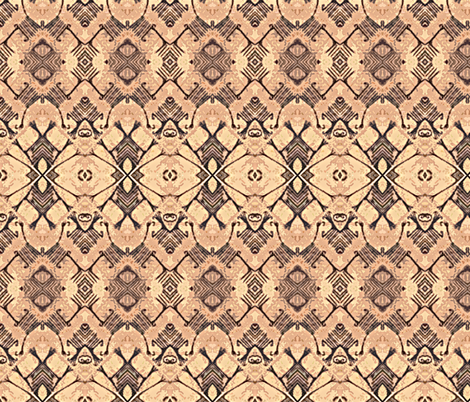 Pygmy Bark Cloth-variation 1 fabric by susaninparis on Spoonflower - custom fabric