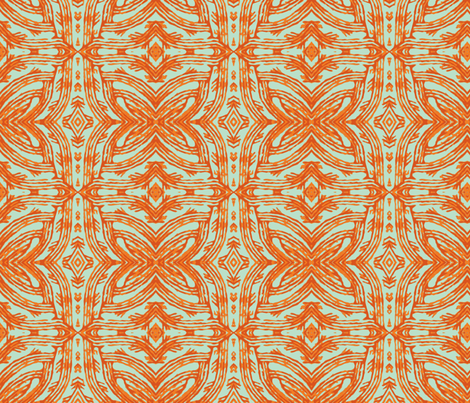 Orange Pride fabric by susaninparis on Spoonflower - custom fabric