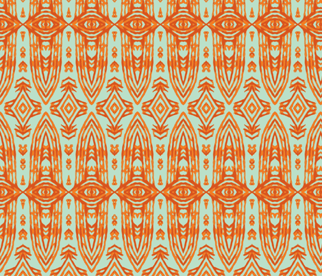 Orange Pride-slim fabric by susaninparis on Spoonflower - custom fabric
