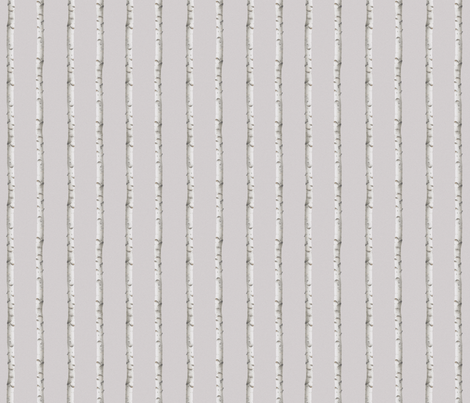 Norwegian birch fabric by design_by_kolle on Spoonflower - custom fabric