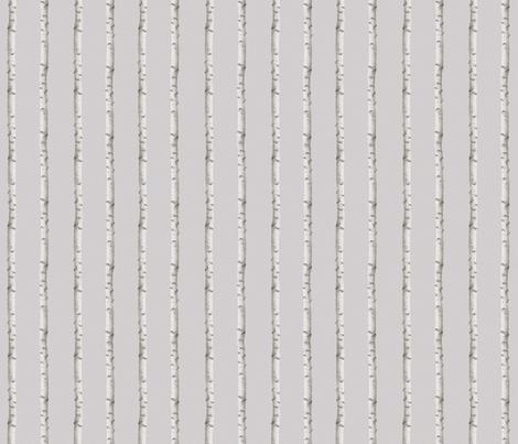 Norwegian birch fabric by design_by_kolle on Spoonflower - custom fabric