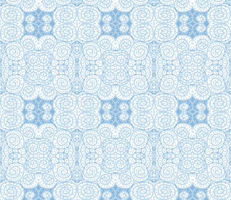 Mostly Cloudy fabric by susaninparis on Spoonflower - custom fabric