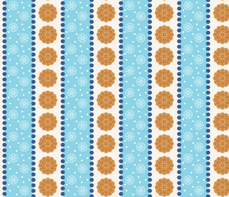 Blueberry Pizzelles fabric by janekenstein on Spoonflower - custom fabric