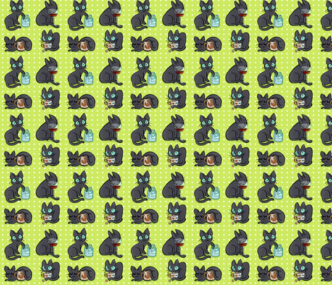What's Yours is Mine! fabric by hugandkiss on Spoonflower - custom fabric