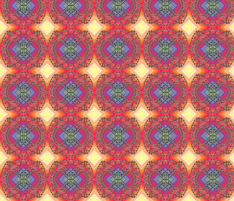 Fractal Experiment fabric by schizoclectic on Spoonflower - custom fabric