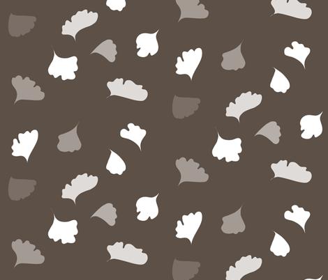 fern_muted fabric by ma0 on Spoonflower - custom fabric