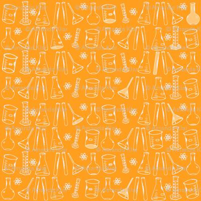 Chemistry Lab Orange White-ch