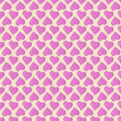 The Princess of Hearts' Party Cloth. fabric by rhondadesigns on Spoonflower - custom fabric