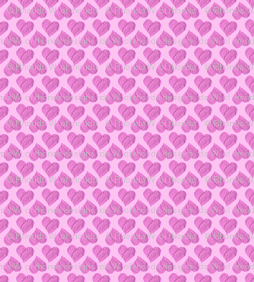 Princess Sweetheart's Pink Hearts Party Cloth.