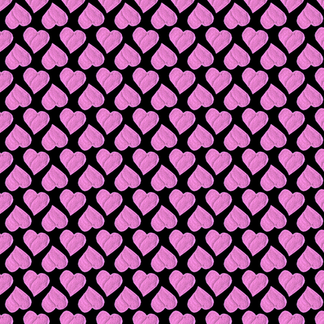 The Princesses' Hot Pink Hearts Party Cloth. fabric by rhondadesigns on Spoonflower - custom fabric