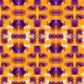 Orange & Purple Patches