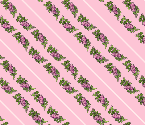 begonias fabric by hannafate on Spoonflower - custom fabric