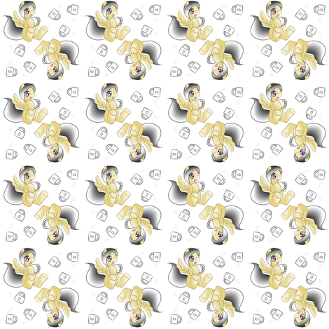 Coffee Pony fabric by dannee'sworld on Spoonflower - custom fabric