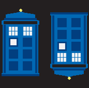 TARDIS black