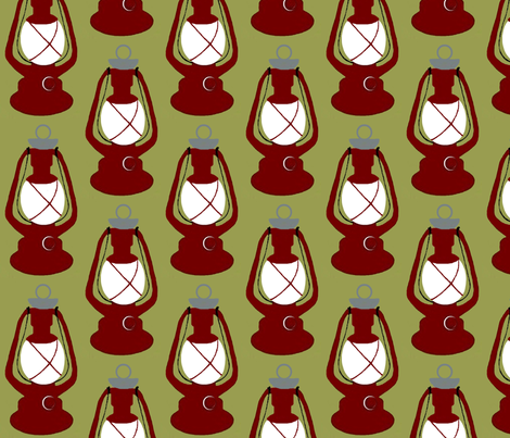 Lantern  fabric by paragonstudios on Spoonflower - custom fabric