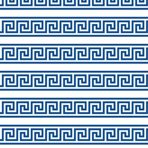 Greek Key single row border