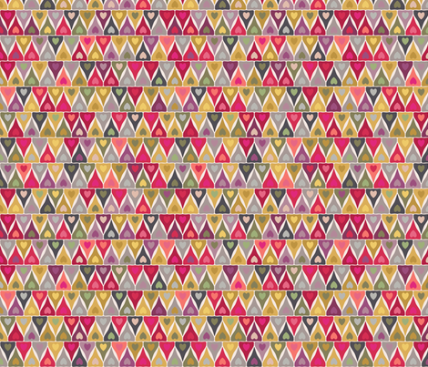 heart stack fabric by scrummy on Spoonflower - custom fabric