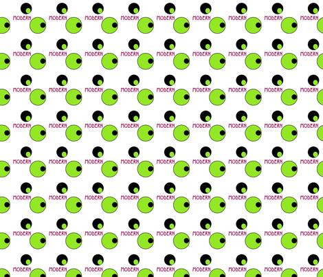 tiled_modern_olives fabric by zippyartist on Spoonflower - custom fabric